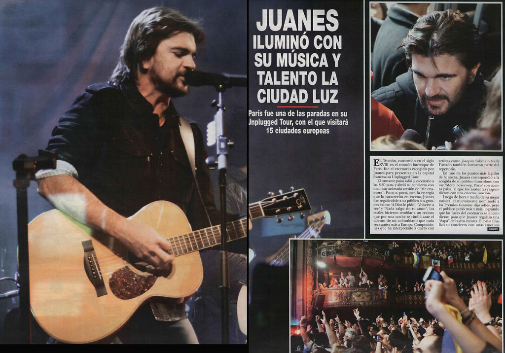 Juanes, Hola Colombia, 2012